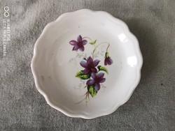 Aquincumi porcelán kis tányér