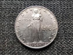 Vatikán XII. Pius Prudentia 10 líra 1956 (id 22695)