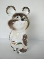 Kijevi porcelán olimpiai Misa mackó