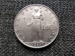 Vatikán XII. Pius Prudentia 10 líra 1953 / id 22693/