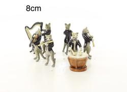 Bécsi(osztrák) bronz zenélő macskák után
