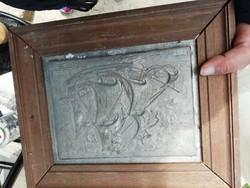 REIN ZINN fali kép hajós a képeken látható állapotban