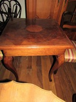 Chippendale asztal felújított
