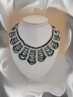 Gyöngyből fűzött nyaklánc SL-GY09-2-36