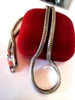 Vastag ezüst nyaklánc