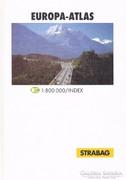 Europa - atlas 1:800000 (ÚJszerű kötet) 2300 Ft