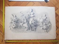 Nádler Róbert (1858-1938) öreg grafikája