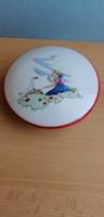 Kispesti Drasche porcelán gyűrűtartó