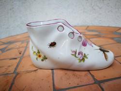 Antik Herendi cipő, cipőcske!!! Különleges a antik jelzés!!