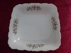 GEBRÜDER BENEDIKT ritka antik csehszlovák porcelán köretes tál.