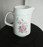 Alföldi porcelán rózsás, virágos kancsó, nosztalgia darab, Gyűjtői szépség