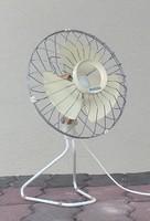 Működő, retro, asztali ventilátor (Predom Metrix) eladó