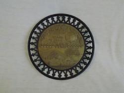 Retro Mátra emlék falitányér 14 cm (12/d)