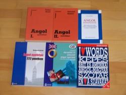 Könyvtár felszámolás -Angol nyelvkönyvek