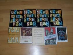 Könyvtár felszámolás-Művészeti könyvek