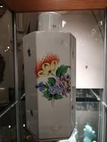Herendi porcelán  fedeles váza vagy urna. Kézzel festet. F-24