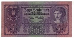 10 schilling 1925 Ausztria RRR Nagyon ritka