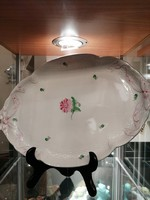 Herendi porcelán nagy méretű pecsenye tál,találó.Kézzel festet. F-24