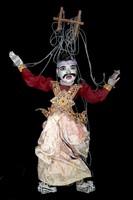"""Régi kézzel készült nagy méretű indiai báb játék """" baba """" !!!"""