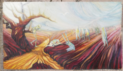 Markovics Árpád festmény