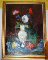 R. Ruppert Zsuzsa festmény