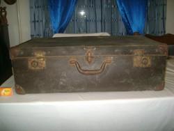 Régi papírbőrönd, koffer - nagyobb méret