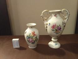 Herendi dombormintás váza