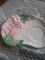 Fajansz csodás tányér