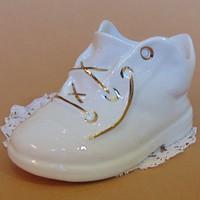 Aquincumi porcelán fehér kiscipő