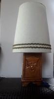 3154 - Rusói karcagi kerámia asztali lámpa