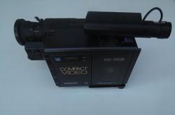 Régi retro Philips compact hq videokamera