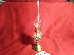 Hol1 kézzel festett mini petróleum lámpa 21 cm