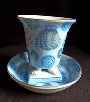 Különleges, kézzel festett japán teás/kávés szett