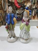 2db japán porcelán figura