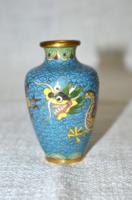 Rekeszzománcos kis váza  ( DBZ 0016 )