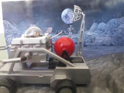 James Bond 007 Moonraker Corgi makett moon buggy