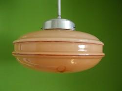 Antik, art deco mennyezeti lámpa 1910-es évek