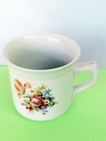 Retró Hollóházi vastagfalú nagy csésze