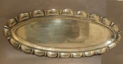 Ezüst tálca / Silver fish serving tray