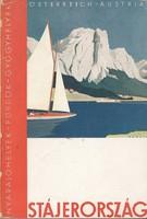 STÁJERORSZÁG Nyaralóhelyek-Fürdők-Gyógyhelyek képes idegenforgalmi kiadvány 1930 körül