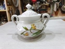 Régi német porcelán cukortartó