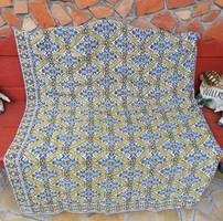 Retro 160*210 cm-es ágytakaró, takaró, terítő, nosztalgia darab