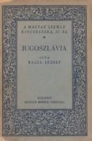 JUGOSZLÁVIA / Bajza József 1929