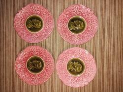 Villeroy & Boch fali tányérok, 4 db
