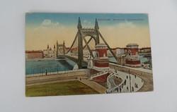 Antik Budapest, Erzsébet-híd. képeslap, képeslevelezőlap