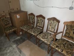 Új rusztikus székek