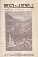 AUSZTRIA NYÁRON idegenforgalmi reklámkiadvány 1920/30
