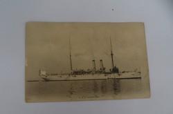 USS Galveston képeslap, képes levelezőlap