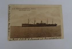 Marine-Feldpost S.M. Werkstattschiff Bosnia  képeslap, képes levelezőlap