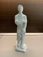 Herendi porcelán Bányász figura,pecsétes jelzéssel 35 cm